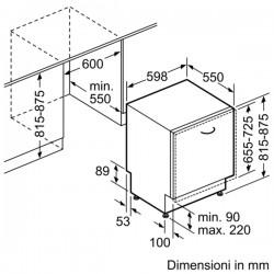 lavastoviglie 3°cesto maxi space plus zeolite  S517T80X1E