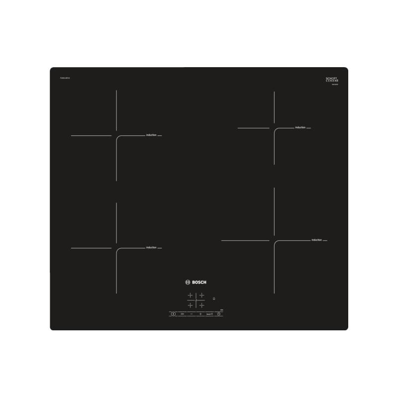 bosch PUE611BF1E piano cottura 60 cm - induzione - Dueg Store ...