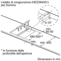 bosch Domino vetroceramica 30 cm  PKF375V14E