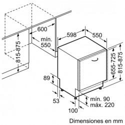 bosch Lavastoviglie 60 cm ActiveWater Scomparsa totale ,SMV64M10EU