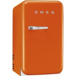 smeg FAB5RO 50's Retro Style Minibar, orange, 40 cm.