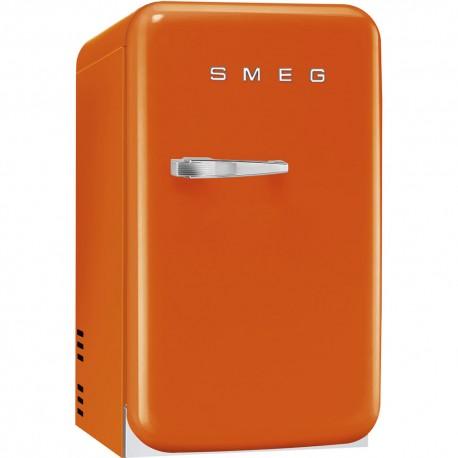 smeg FAB5LO Minibar anni '50, arancione, 40 cm.