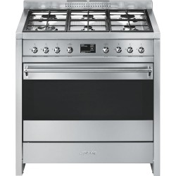smeg A1-9 Cooker with Multifunction Oven and Gas Hob