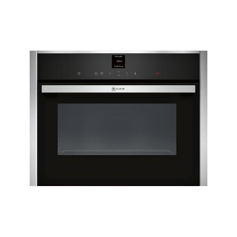 Neff c17ur02n0 forno compatto microonde for Micro piano casa compatto