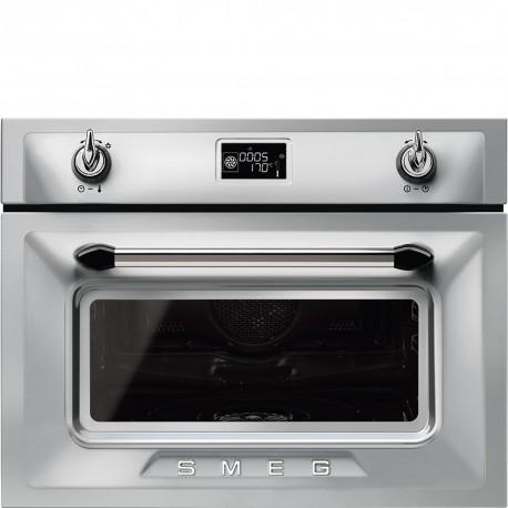 Smeg sf4920mcx forno compatto combinato microonde inox - Micro onde smeg ...
