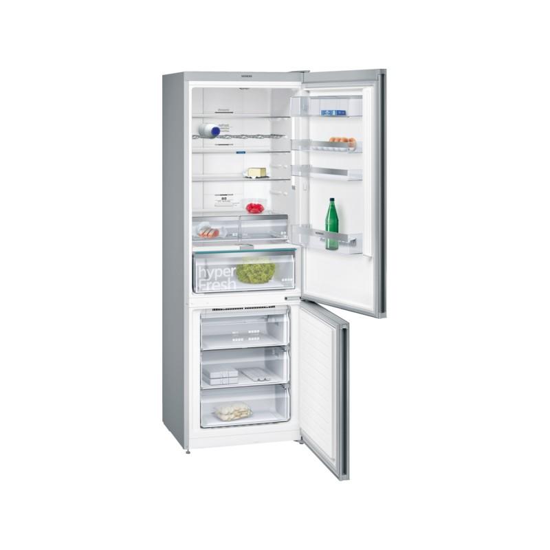 siemens kg49nlw30 frigorifero vetro bianco