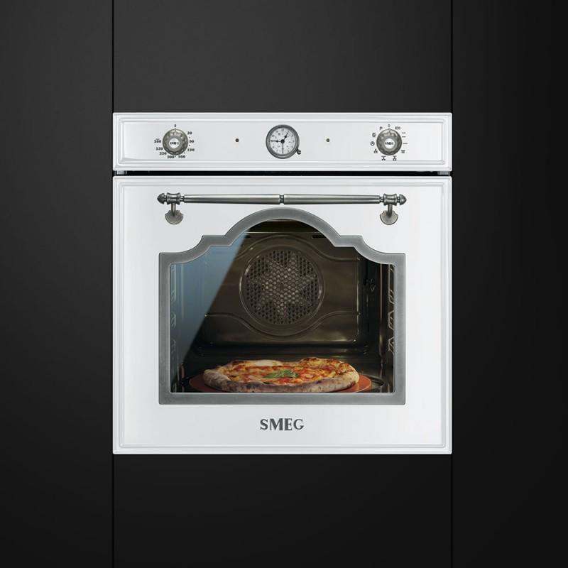 smeg sfp750bspz Forno pizza termoventilato, pirolitico cortina