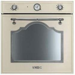 smeg sf750ps Convection oven, 60 cm, cream Aesthetics Cortina