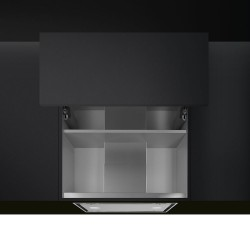 smeg  KSGT74B Integrated hood to the wall cabinet