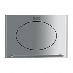 smeg pmo66x Porta basculante per forno a microonde, inox.