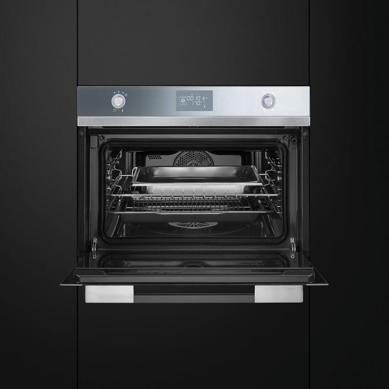 Smeg sf4120vc forno compatto combinato a vapore - Forno a vapore opinioni ...