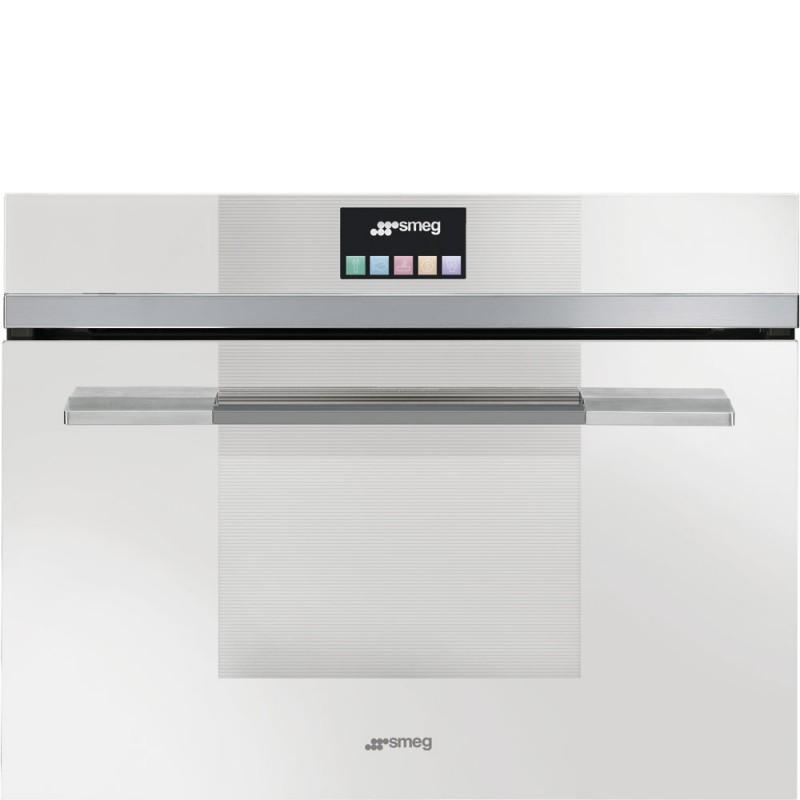Smeg sf4140mcb forno compatto combinato microonde - Forno e microonde combinato ...