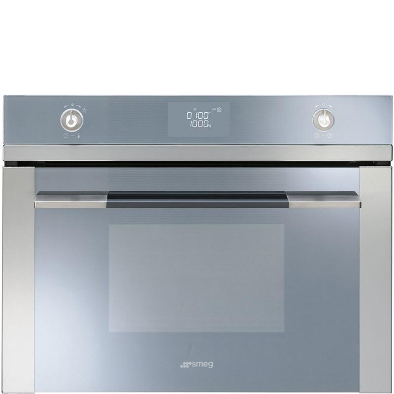 Smeg sf4120mc forno compatto combinato microonde forni - Forno a microonde combinato ...