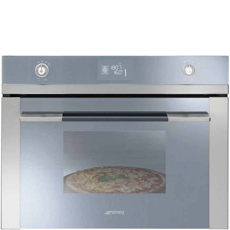 smeg sf4120pz Forno compatto termoventilato pirolitico, pizza ...