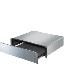 smeg ctp113 Cassetto porta-oggetti, H 15 cm, inox e silver glass.