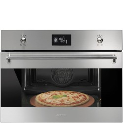 smeg sfp4390x ELECTRIC THERMOVENTILATED OVEN, PYROLITIC, 45 CM