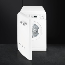 smeg LBB14WH-2 Washer 50s with front loading door