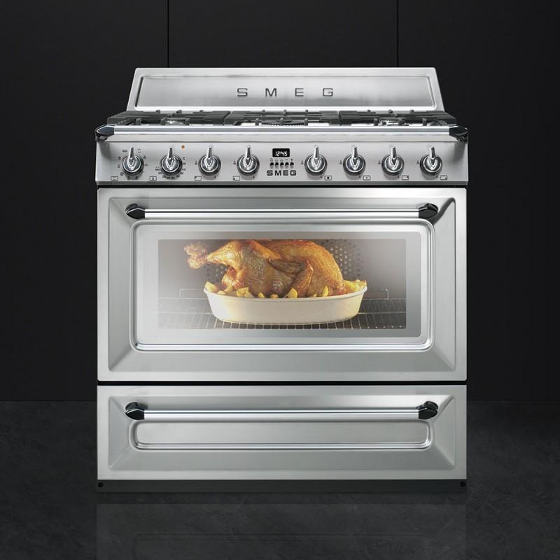 Cucine A Gas Smeg Colorate. Affordable Cucine Elettriche With Cucine ...