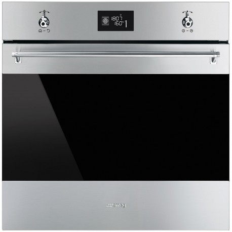 smeg sf6390xe oven ventilated, 60cm, stainless steel
