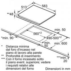siemens Elettrico da 60 cm in Vetroceramica ET645FFP1E