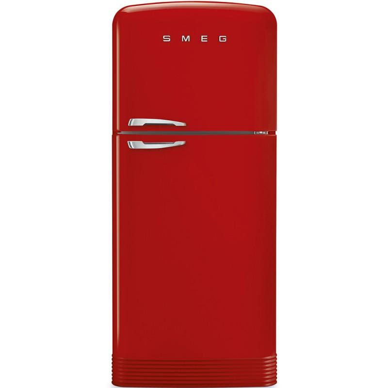 smeg FAB50RRD LZweitürigen Kühlschrank 50er rot