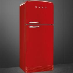 smeg FAB50RRD Холодильник две двери 50 красный