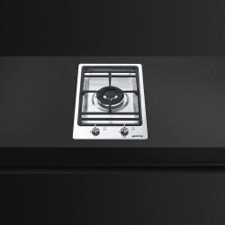 smeg pgf31g-1 Piano di cottura Domino, semifilo, 30 cm