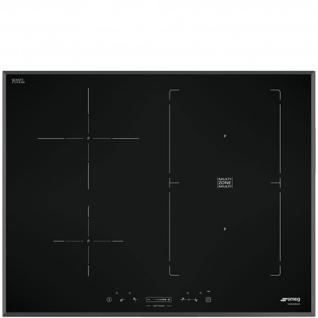 smeg SIM570B  HOB, 70 CM, INDUCTION