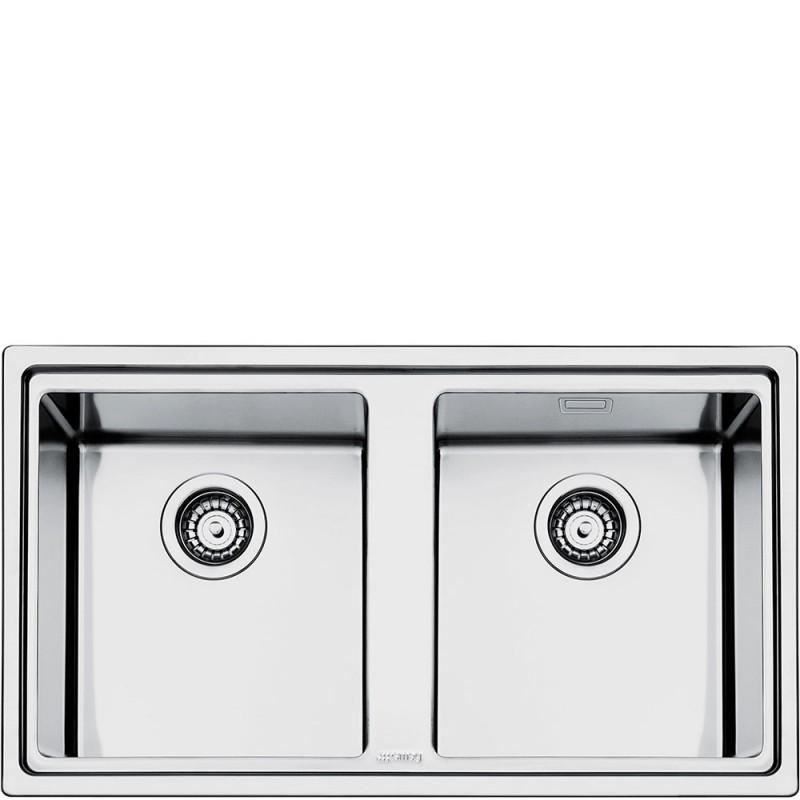 smeg LD862-2 Lavello da incasso - Lavelli per cucina - Dueg Store ...