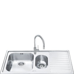 smeg ll102d-2 LOW PROFILE SINK