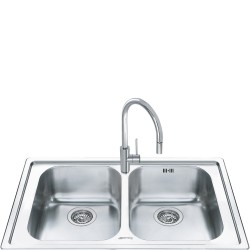 smeg ll862-2 LOW PROFILE SINK