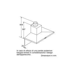 bosch DWQ96DM50 Cappa aspirante con design Pyramide