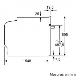 Siemens HB573ABR0 Forno Pirolitico da Incasso, Inox