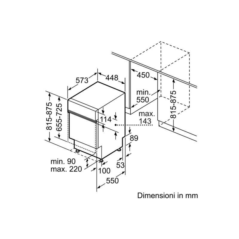 ... Siemens SR536S01ME Lavastoviglie 45 Cm SpeedMatic Integrabile Inox,