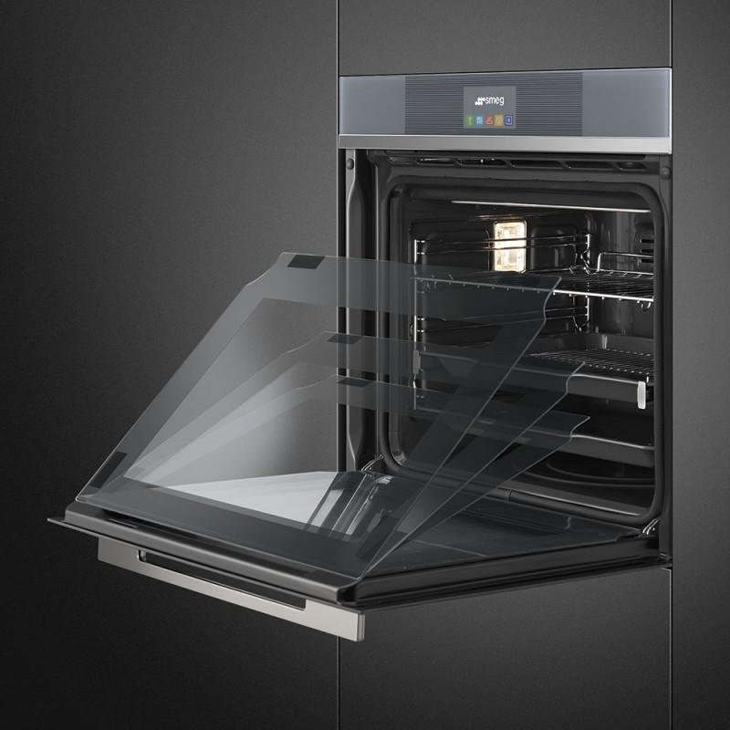 Smeg sfp6104tvs forno incasso linea multifunzione forno pirolitico - Miglior forno ad incasso ...