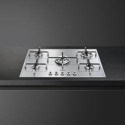 smeg px7502 Hob semifilo, 74 cm, la plate-forme en acier inoxydable