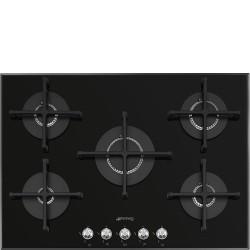 smeg pv175n2 Piano di cottura, 72 cm, pianale in vetro nero