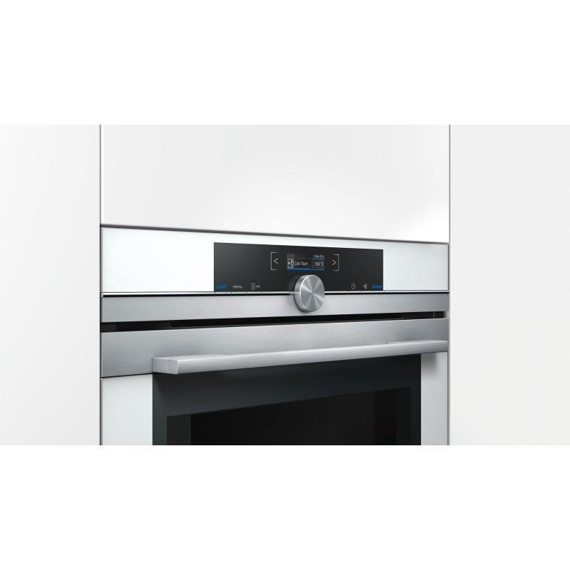 Siemens cm633gbw1 forno compatto combinato a microonde bianco - Forno combinato elettrico e microonde ...