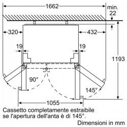 neff  KA7902I30 Sistema NoFrost  Porta Acciaio