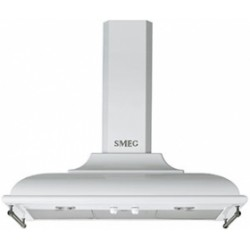 smeg kc19bse Wall Hood, 90 cm, white