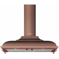 smeg kc19rae Wall Hood, 90 cm, copper