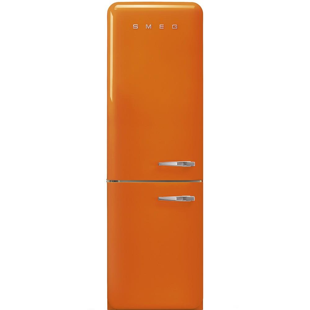 smeg fab32lor3 Frigorifero combinato anni \'50, arancione, 60 cm ...