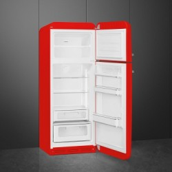 smeg FAB30RRD3 Double door Refrigerator-Freezer, Red,