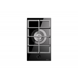 ilve HCG30CK tempered glass gas hob