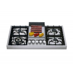ilve HAP95FC Stainless steel gas cooker ho