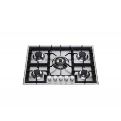 ilve HP75C Stainless steel gas hob