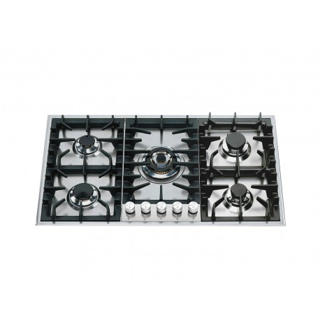 ilve HP95C Stainless steel gas hob
