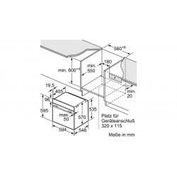 neff T62S26S1 Piano in cristallo nero 60 cm montaggio a filo o appoggio griglie ghisa