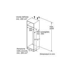 neff KI2822SF0 frigorifero  monoporta