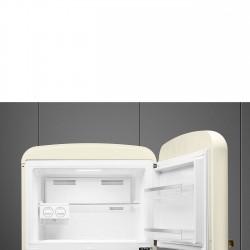 smeg FAB50RCRB Zweitürigen Kühlschrank 50er Jahre, Sahne,